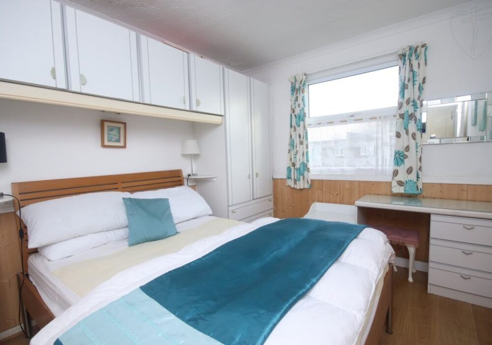 interior of holiday chalet at 10a Medmerry Park, Selsey