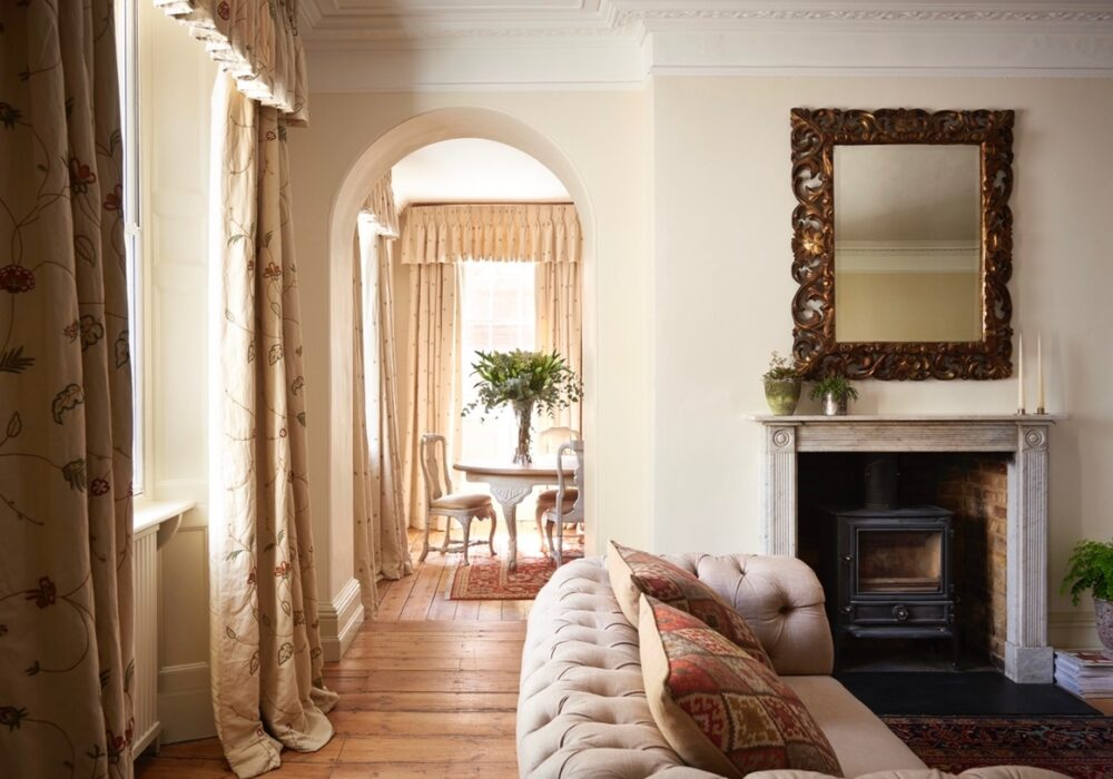 An image inside Ryde House, Petworth
