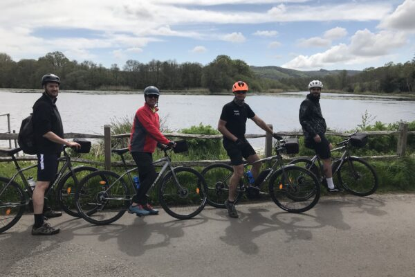 an image of cyclists