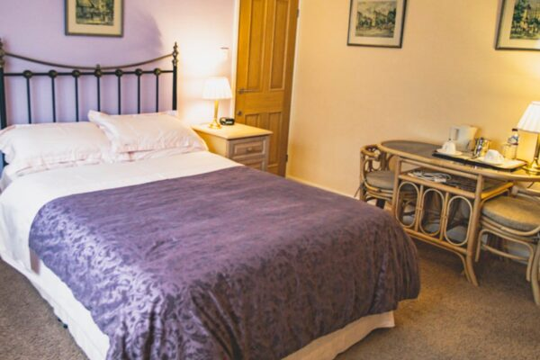 An interior picture of a bedroom at Finisterre B&B